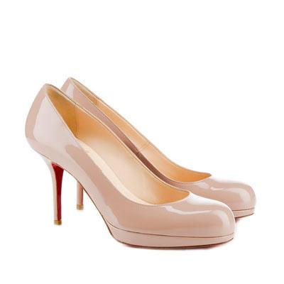 Nude Short Heels - Qu Heel
