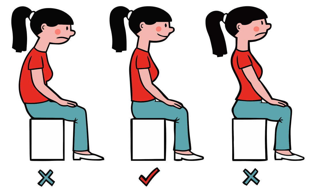 Love Your Age Why Sitting Straight Is A Really Good Thing
